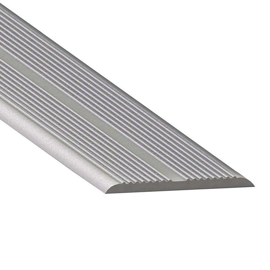Čirá gumová samolepící průhledná schodová lišta - délka 5 m, šířka 3,3 cm a výška 0,25 cm