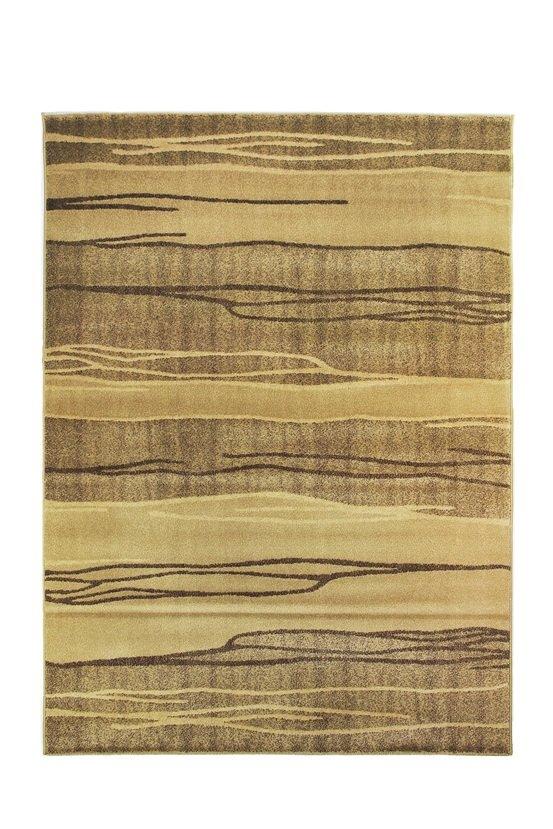 Hnědý kusový koberec Living - délka 230 cm a šířka 164 cm