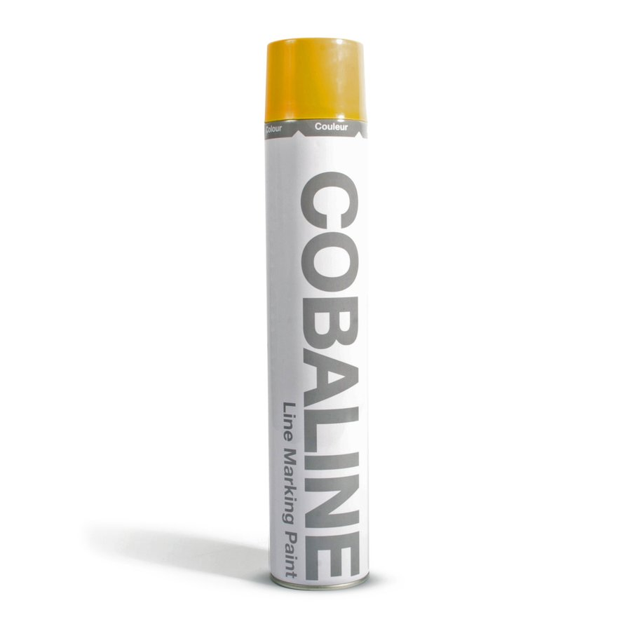 Žlutá permanentní rychleschnoucí barva - objem 750 ml