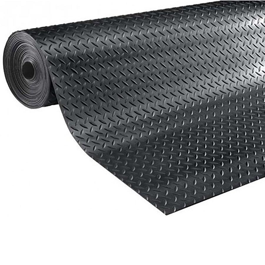 Protiskluzová průmyslová podlahová guma Diamonds - šířka 125 cm