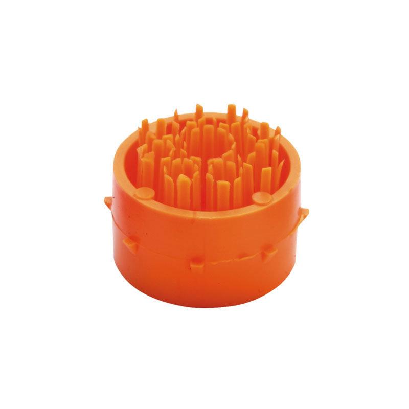 Oranžový plastový čistící kartáček pro rohože Octomat, Octomat Elite