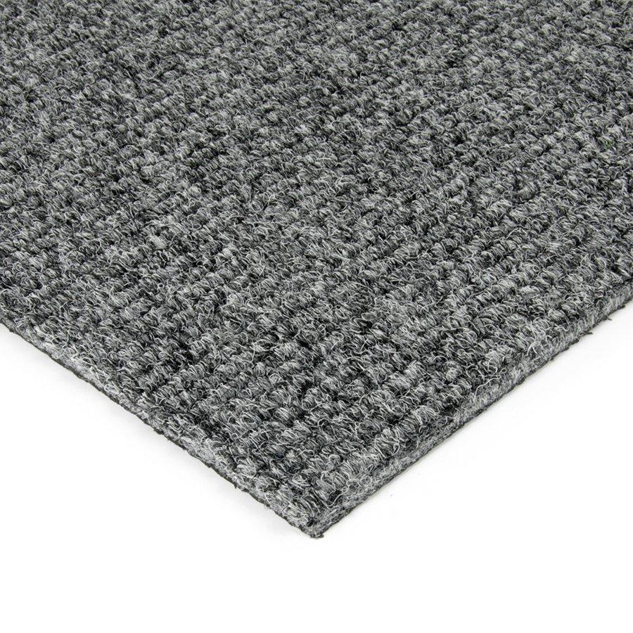Šedá kobercová vnitřní čistící zóna Catrine, FLOMAT - délka 200 cm, šířka 200 cm a výška 1,35 cm