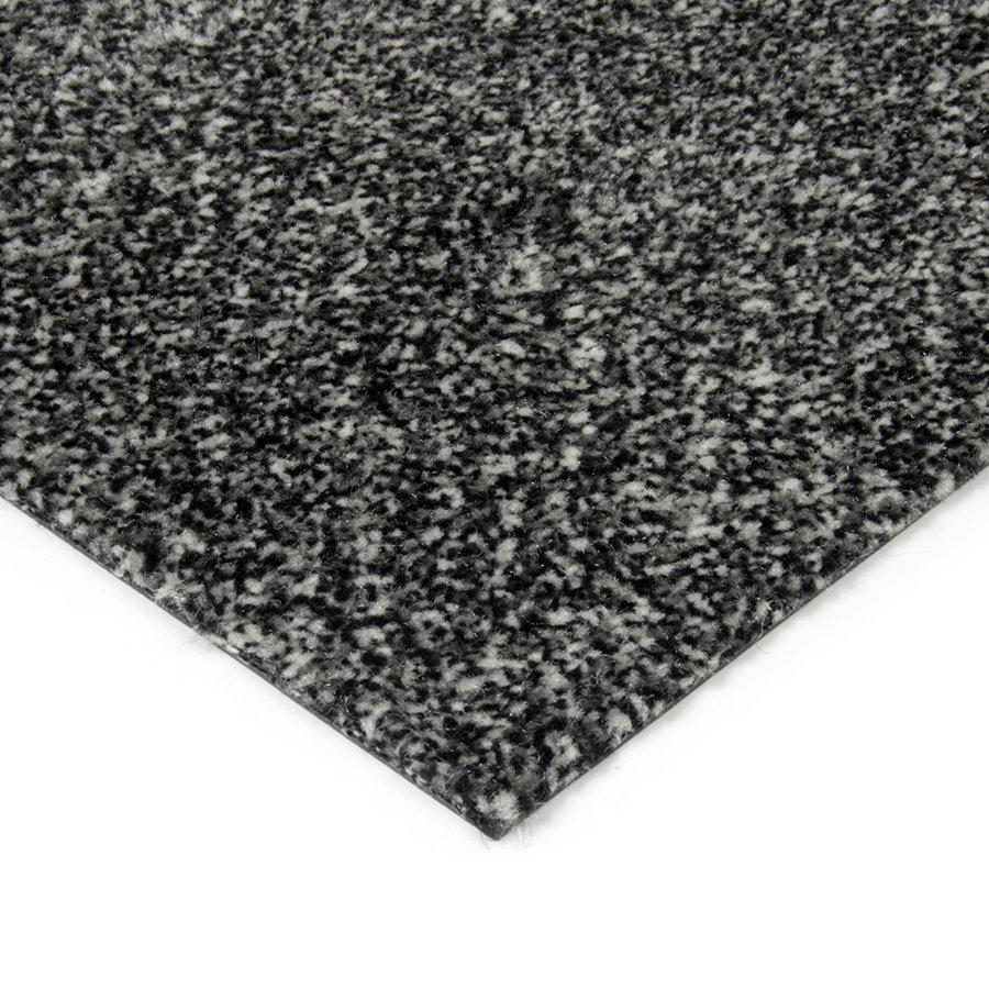 Černá kobercová vnitřní čistící zóna Cleopatra, FLOMAT - výška 1 cm