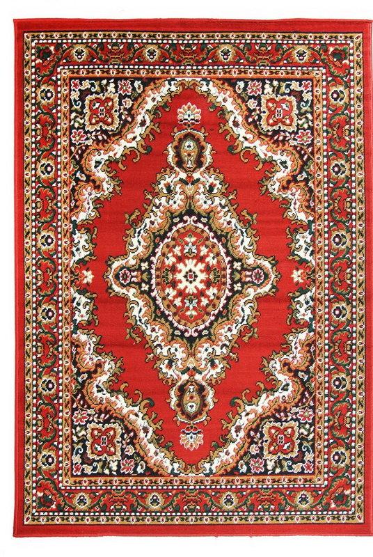 Červený orientální kusový koberec Teheran-T - délka 60 cm a šířka 40 cm