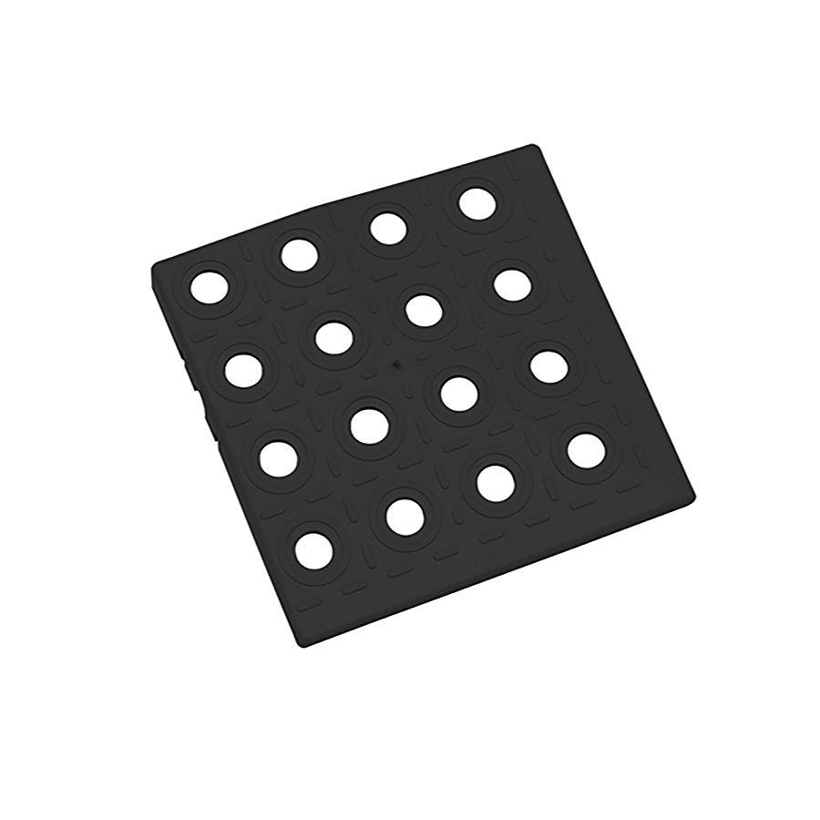 Černý plastový roh AT-HRD, AvaTile - 13,7 x 13,7 x 1,6 cm