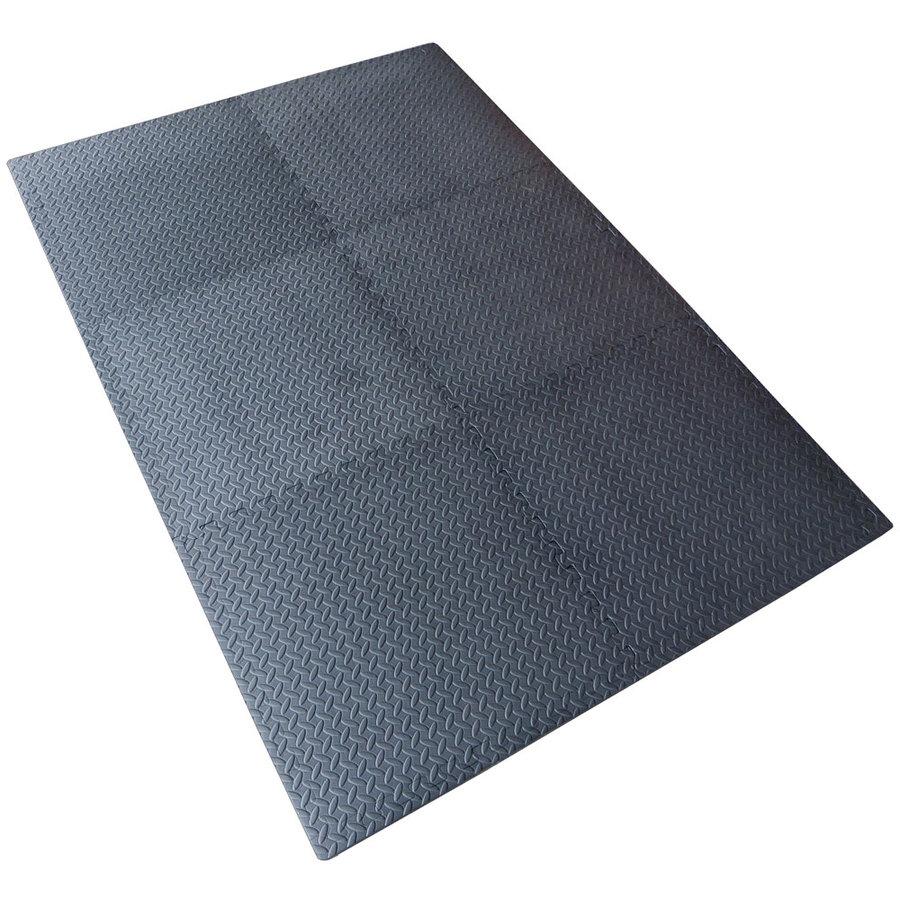 Protiúnavová modulární pěnová univerzální podložka - délka 180 cm, šířka 120 cm a výška 1,2 cm - 6 k