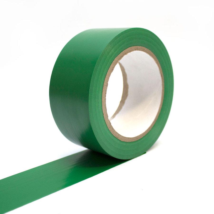 Zelená vyznačovací podlahová páska - 33 m x 5 cm (80000288)
