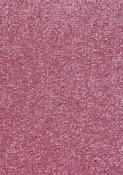 Růžový kusový koberec Nasty - délka 150 cm a šířka 80 cm