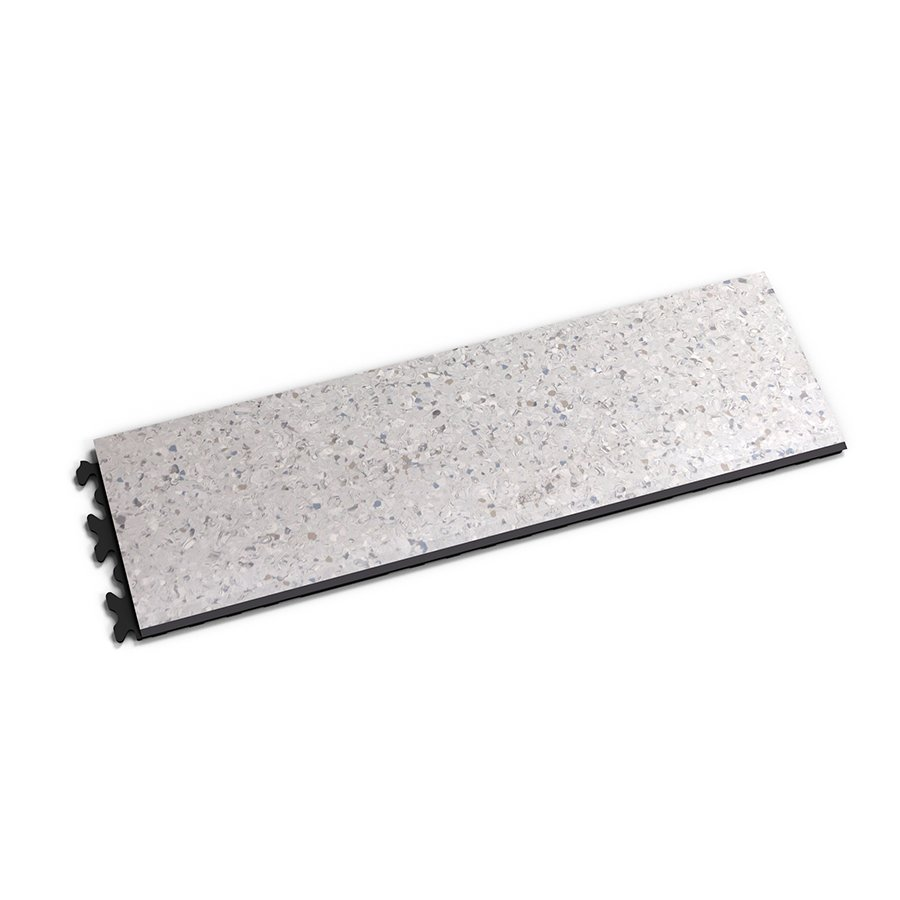 "Šedý vinylový plastový nájezd ""typ C"" Solid Decor 2133, Fortelock - délka 47,2 cm, šířka 14,5 cm a výška 0,65 cm"