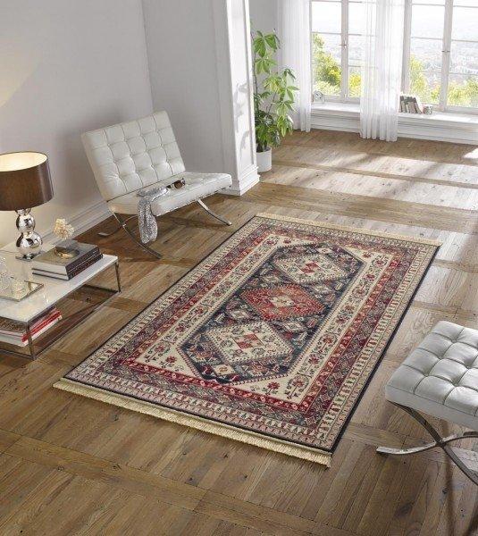 Různobarevný moderní orientální kusový koberec Majestic - délka 170 cm a šířka 120 cm