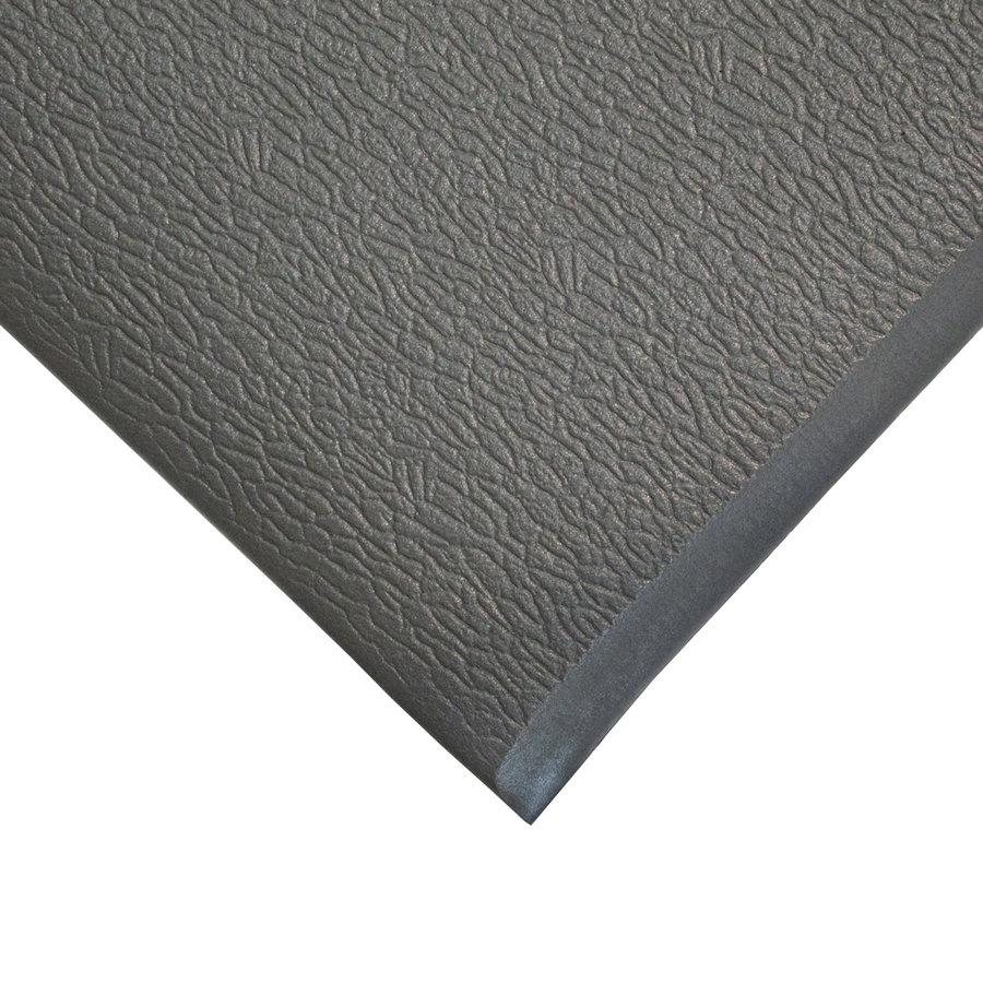Šedá gumová protiskluzová protiúnavová průmyslová rohož - výška 0,9 cm