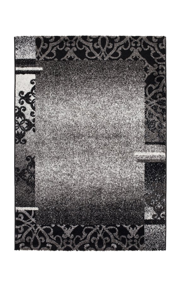 Šedý kusový koberec Copacabana - délka 110 cm a šířka 60 cm