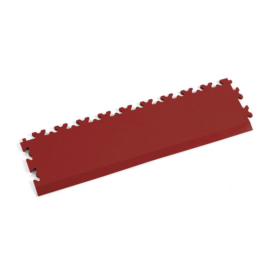 Červený plastový vinylový nájezd 2025 (kůže), Fortelock - délka 51 cm, šířka 14 cm a výška 0,7 cm