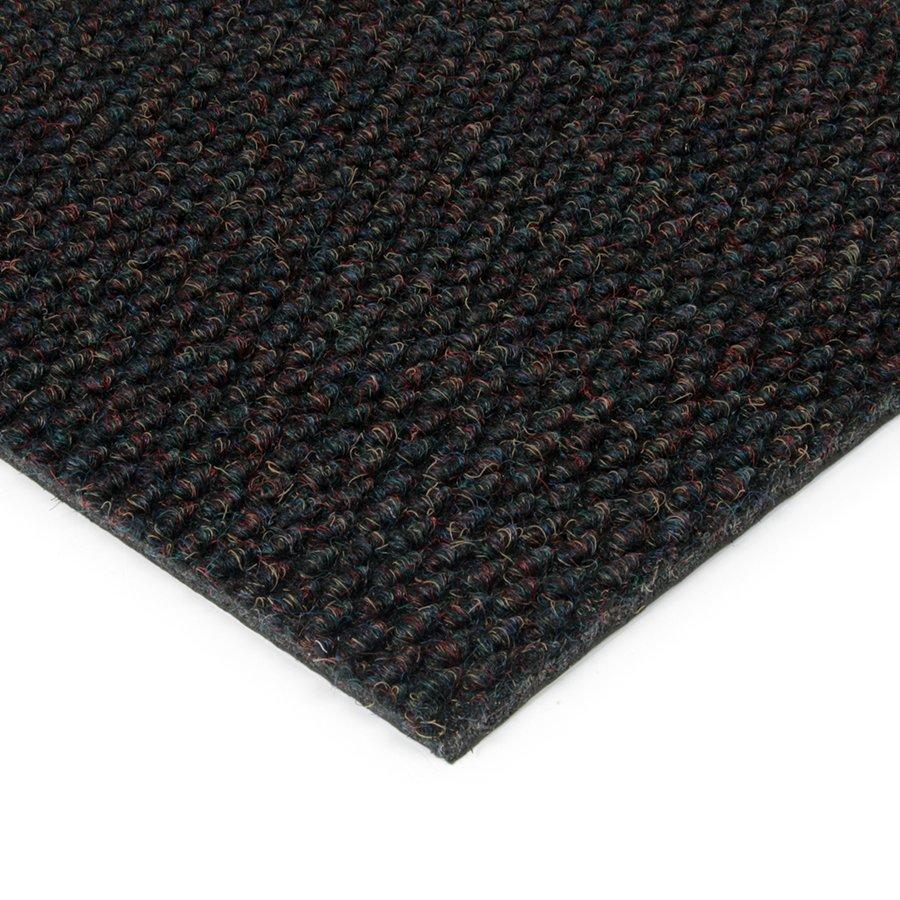 Černá kobercová zátěžová vnitřní čistící zóna Fiona, FLOMAT - výška 1,1 cm