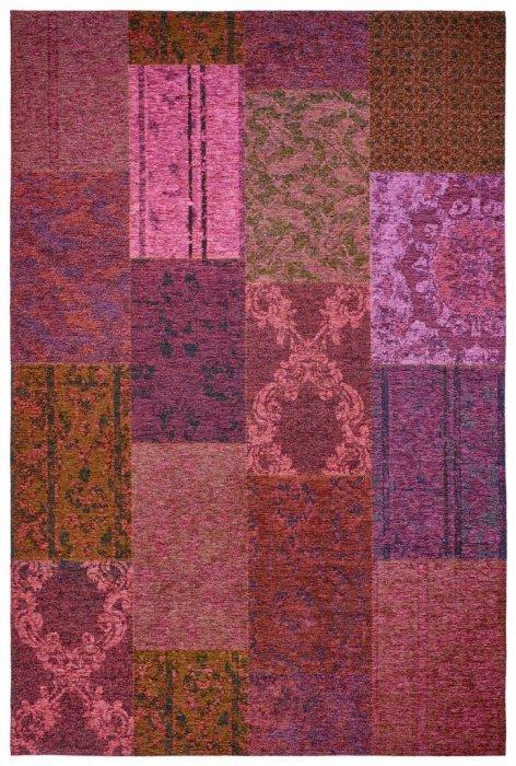 Fialový kusový moderní koberec Milano