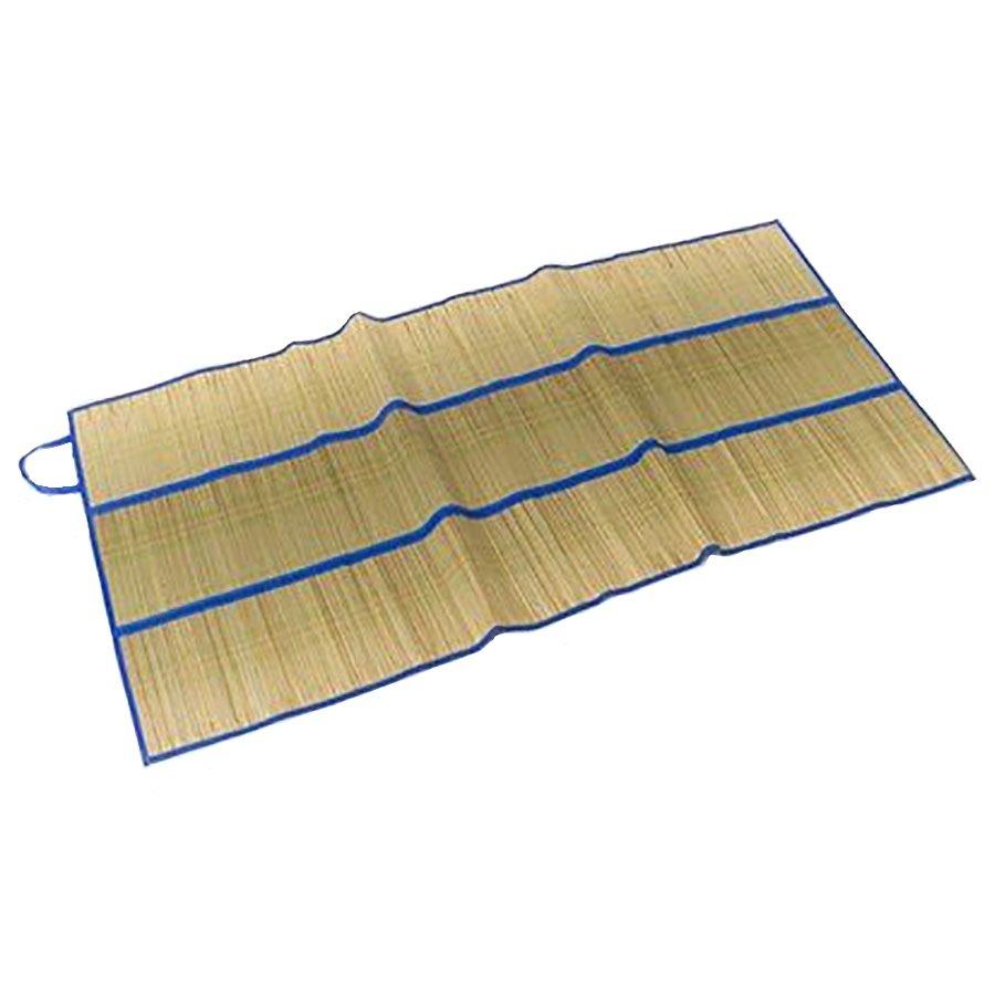 Slámová skládací plážová rohož - délka 170 cm a šířka 80 cm