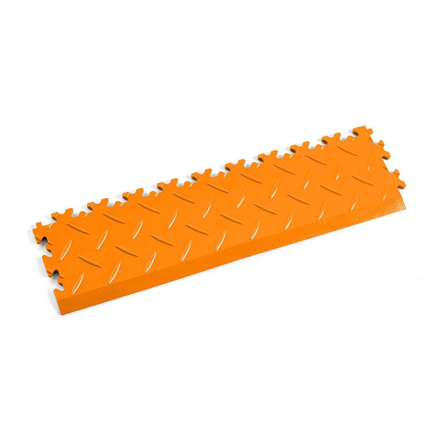 Oranžový plastový vinylový nájezd 2015 (diamant), Fortelock - délka 51 cm, šířka 14 cm a výška 0,7 cm