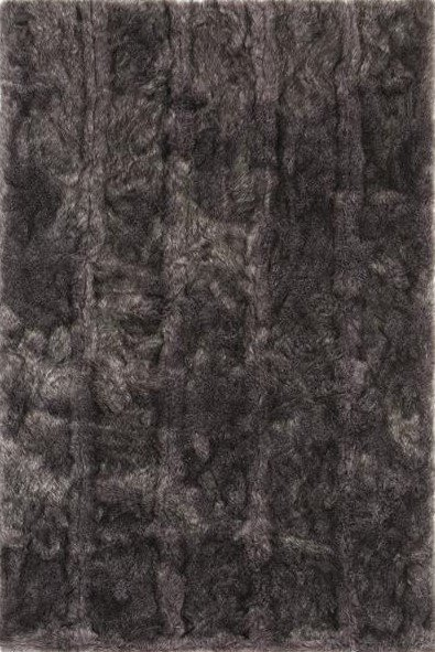 Šedý kusový luxusní koberec Feel