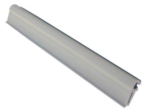 Světle šedý plastový plotový úchyt - délka 19 cm - 10 ks