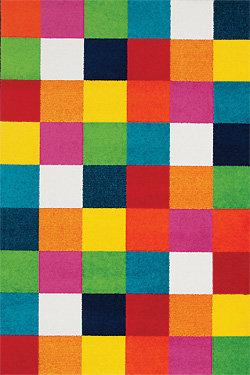 Různobarevný kusový koberec City - délka 170 cm a šířka 120 cm
