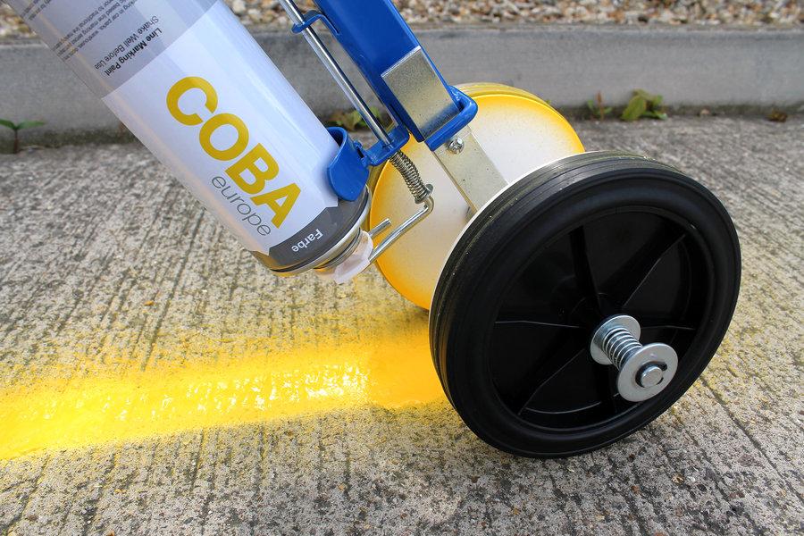 Pojízdný aplikátor barvy