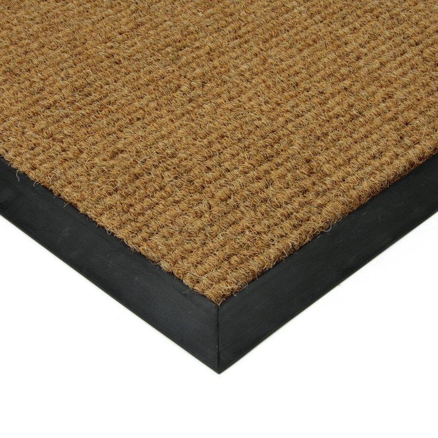 Béžová textilní vstupní vnitřní čistící zátěžová rohož Catrine, FLOMA - délka 300 cm, šířka 300 cm a výška 1,35 cm