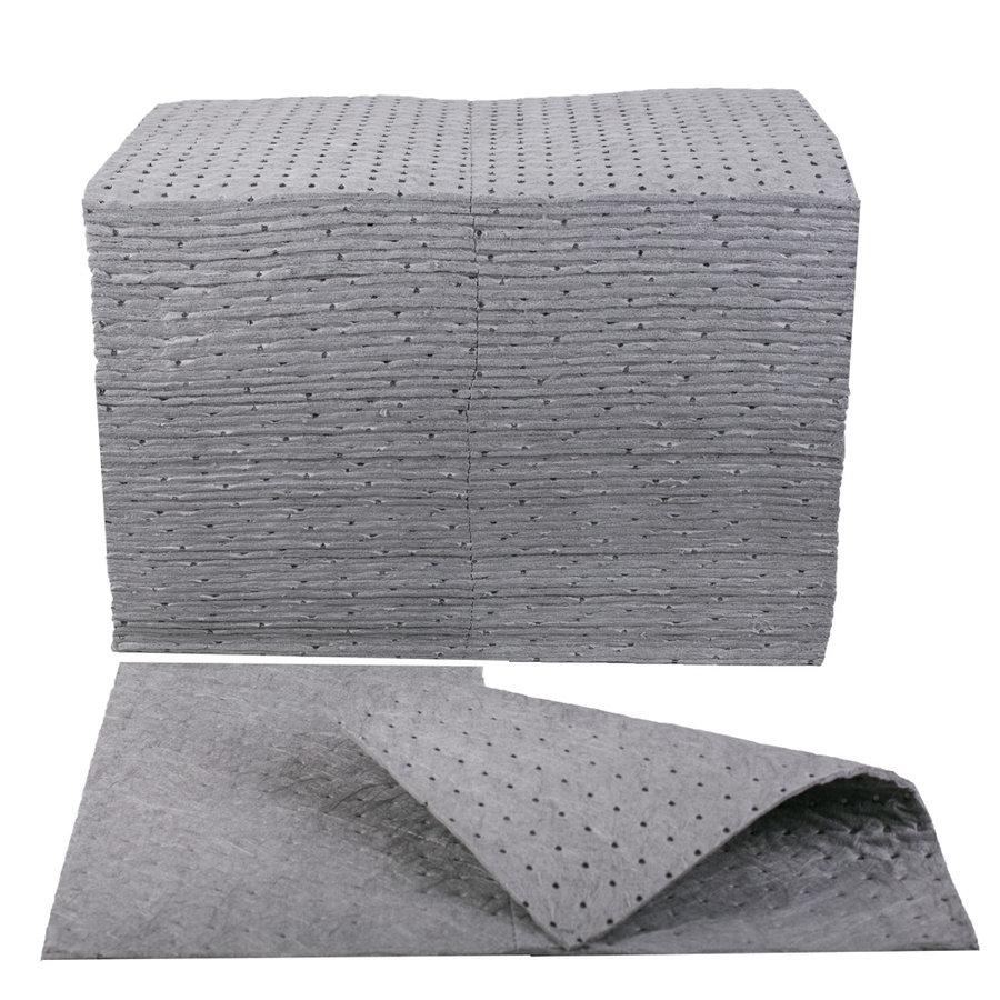Univerzální těžká zpevněná sorpční podložka - délka 50 cm a šířka 40 cm - 100 ks
