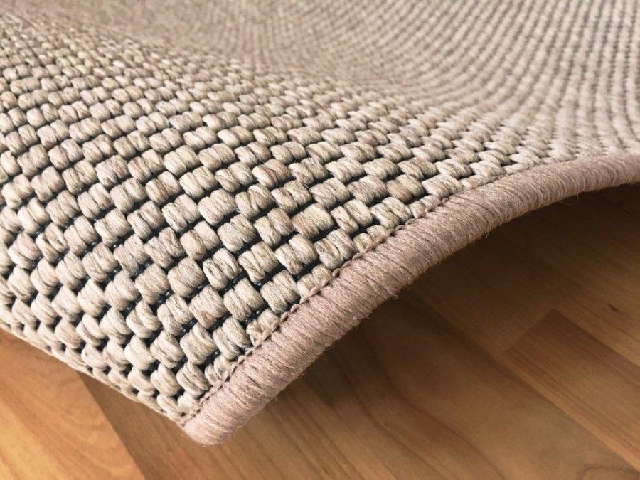Béžový kusový koberec Nature