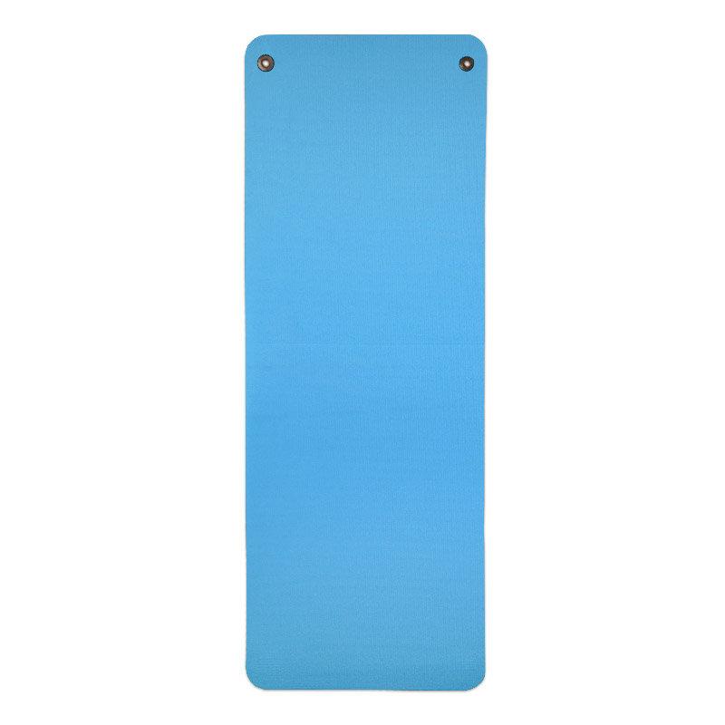 Modrá gymnastická podložka na cvičení - délka 173 cm, šířka 60 cm a výška 1,5 cm