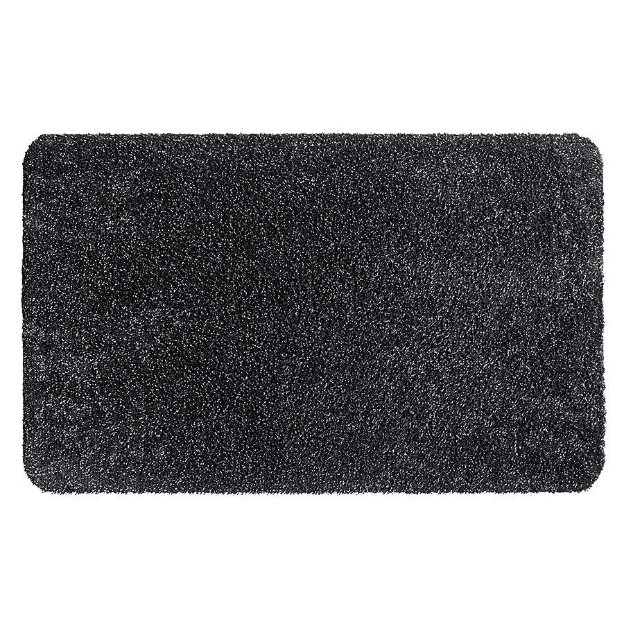 Grafitová metrážová čistící vnitřní vstupní pratelná rohož Natuflex, FLOMA - délka 1 cm a výška 0,6 cm