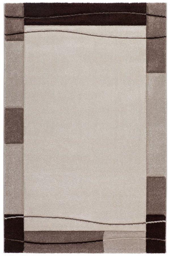 Béžovo-hnědý kusový moderní koberec Acapulco