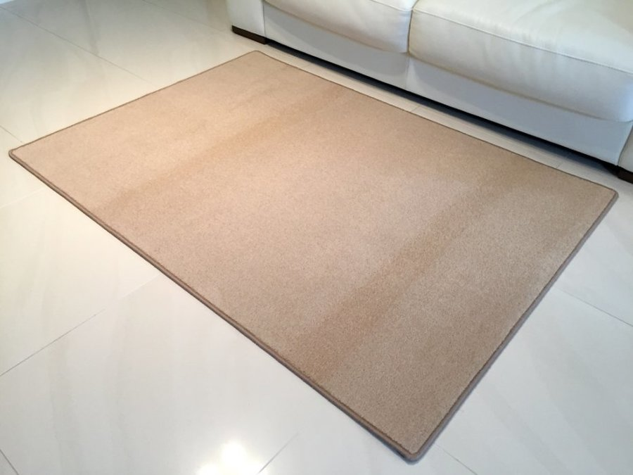 Béžový kusový koberec Eton - délka 80 cm a šířka 50 cm