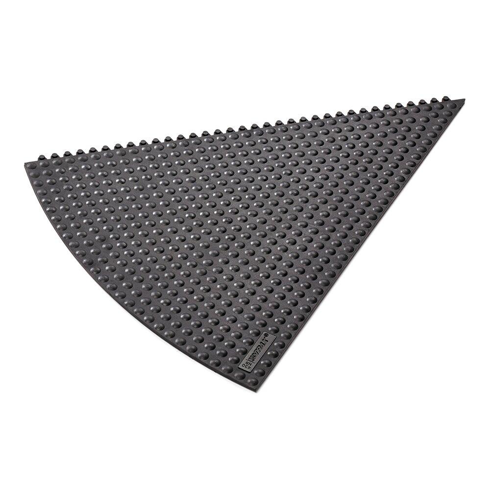 Černá gumová rohož (okraj) Skywalker HD i-Curve Nitrile - výška 1,3 cm