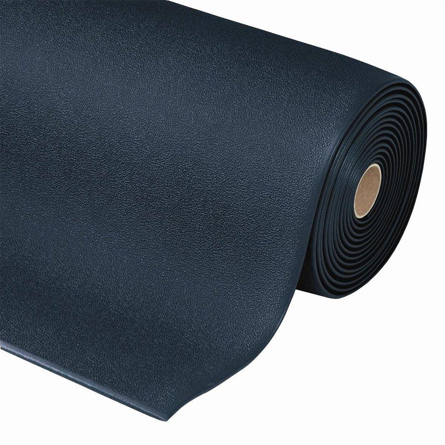 Černá protiúnavová průmyslová rohož - výška 0,94 cm