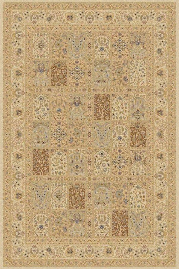 Béžový kusový moderní koberec Diamond