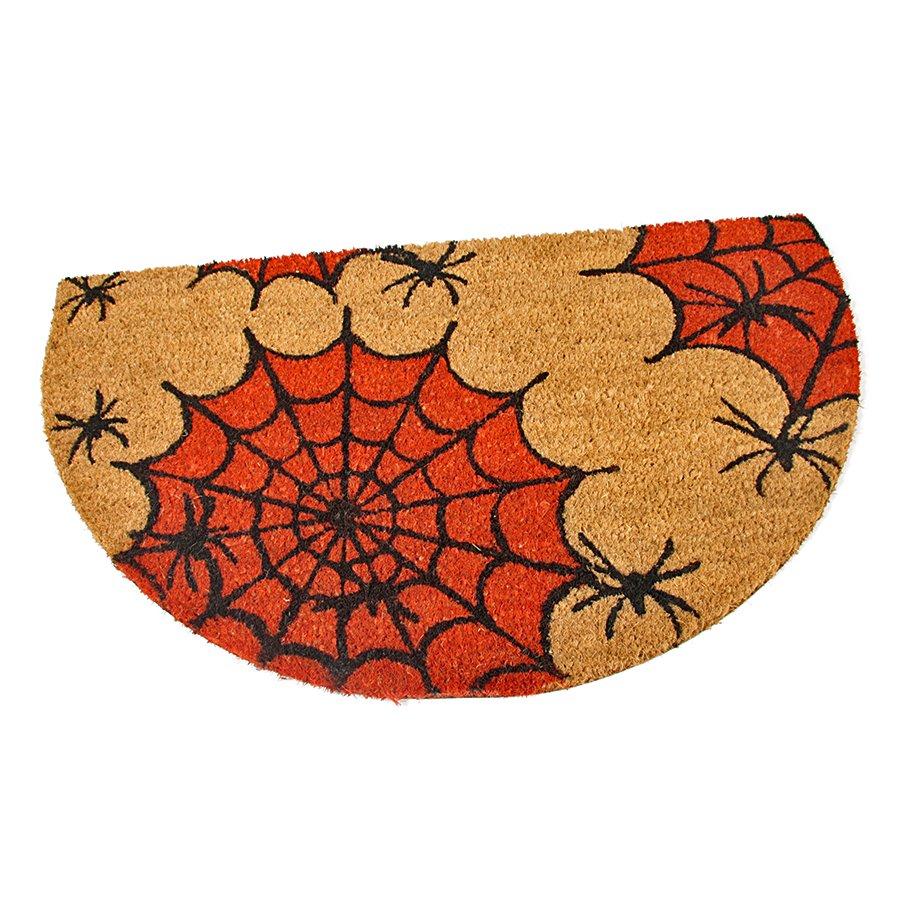 Kokosová čistící venkovní vstupní rohož Spiders, FLOMAT - délka 75 cm, šířka 45 cm a výška 1,7 cm