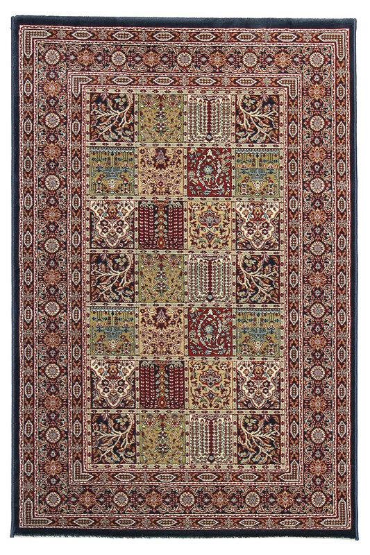 Modrý orientální kusový koberec Tashkent - délka 235 cm a šířka 160 cm