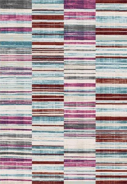 Růžový moderní kusový koberec Velvet - délka 330 cm a šířka 230 cm