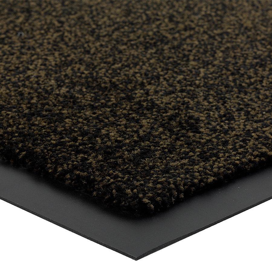 Hnědá čistící vnitřní vstupní rohož Briljant, FLOMA (Bfl-S1) - výška 0,9 cm