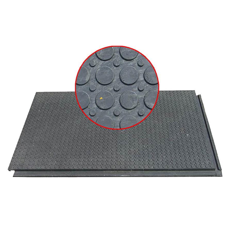 Plastová univerzální podlahová interierová deska - délka 120 cm, šířka 80 cm a výška 4,3 cm