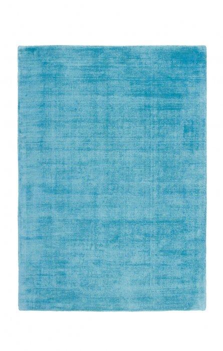 Tyrkysový kusový koberec