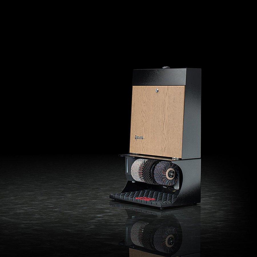 Černo-hnědý čistič bot Ronda 30, Heute (světlý dub)