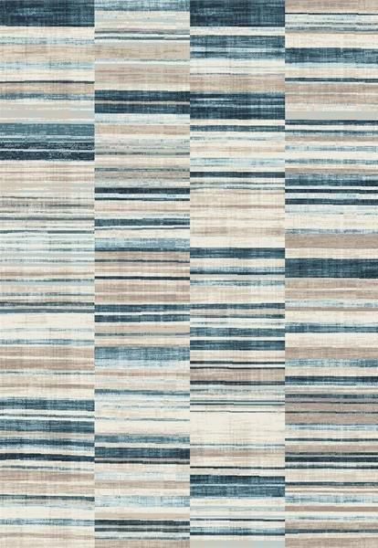 Modrý moderní kusový koberec Velvet - délka 330 cm a šířka 230 cm