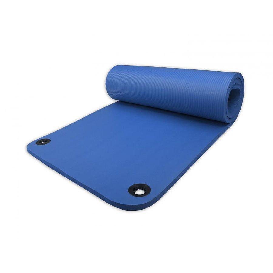 Modrá pěnová karimatka na jógu Harmony - délka 180 cm, šířka 60 cm a výška 1,5 cm