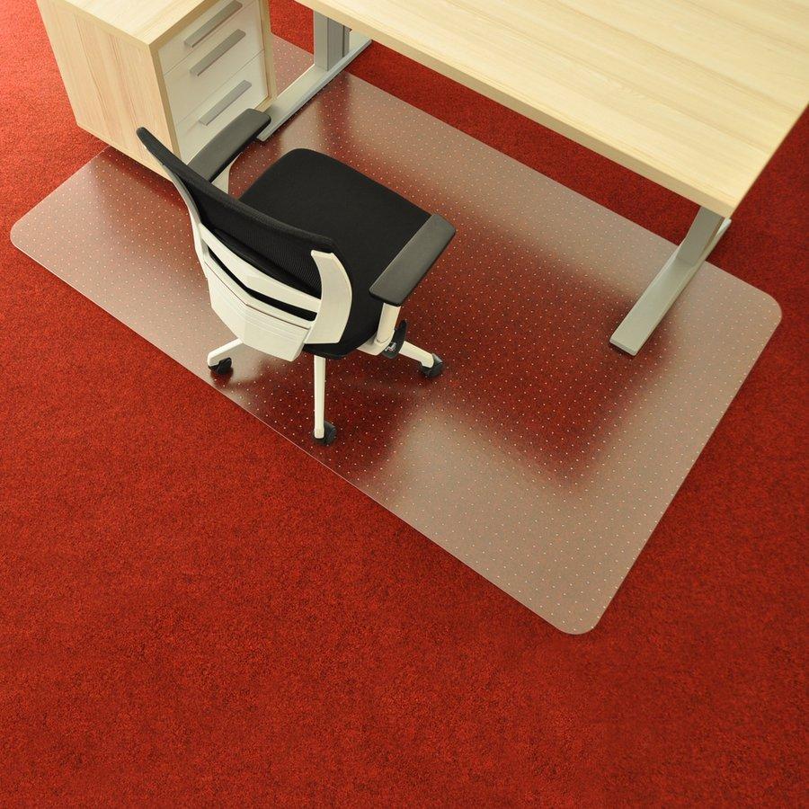 Čirá podložka na koberec pod židli - délka 183 cm, šířka 120 cm a výška 0,3 cm