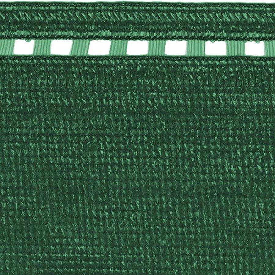 Zelená stínící tkanina na plot Coimbra - délka 50 m