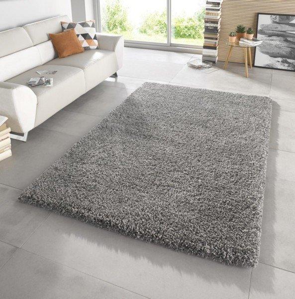 Šedý kusový koberec Venice - délka 150 cm a šířka 80 cm
