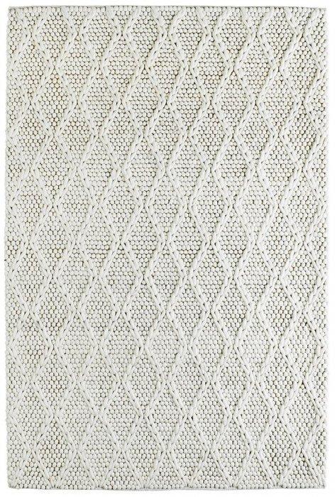 Béžový kusový koberec - délka 170 cm a šířka 120 cm