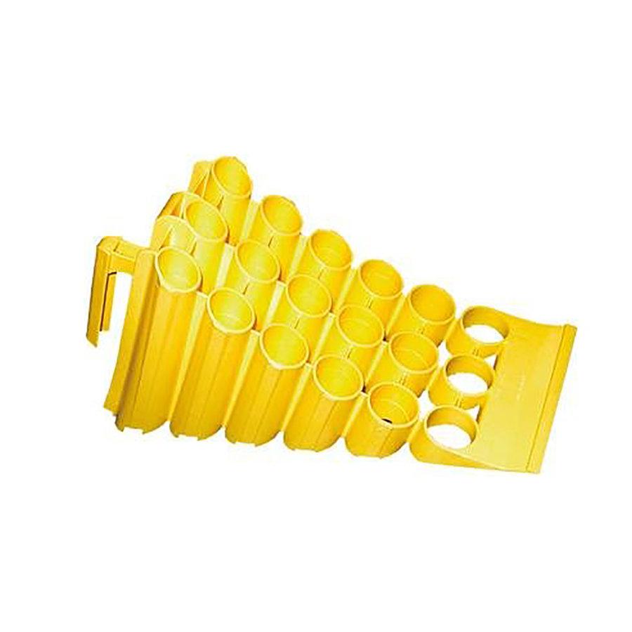 Plastový zakládací klín (pro vozidla do 3,5 t) - délka 45 cm, šířka 20 cm a výška 16,5 cm