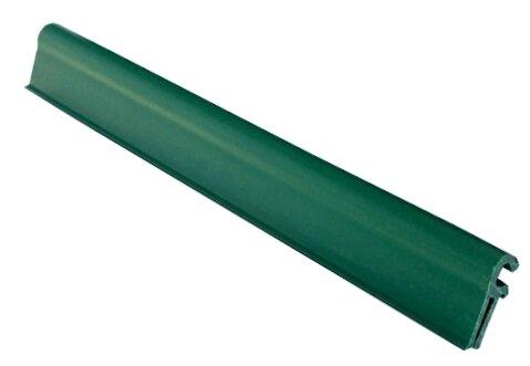 Zelený plastový plotový úchyt - délka 19 cm - 10 ks